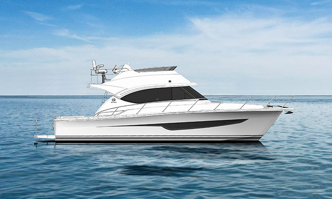Riviera reveals details of two sensational new under 40-foot motor yachts
