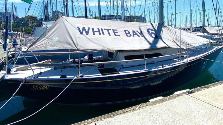 White Bay 6 Azzurro ready to race
