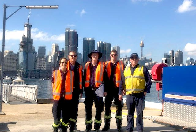 Balmain Fire and Rescue visit