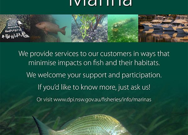 WB6 is a Fish Friendly Marina