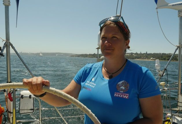 Lisa Blair circumnavigates Australia