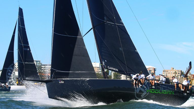 Favourite toppled in TP52 opener at SailFest Newcastle
