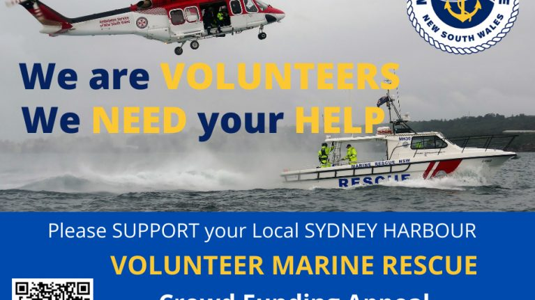 Can you help Marine Rescue?