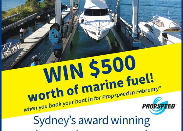 Your chance to win $500 worth of marine fuel!