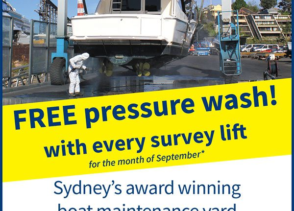 FREE pressure wash with survey lift