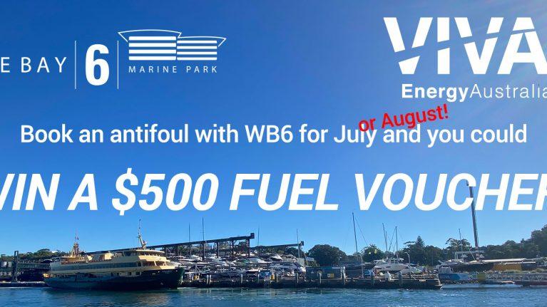 Win a $500 fuel voucher!