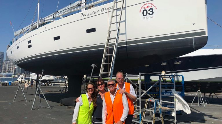 The Melbourne to Osaka doubled handed race
